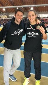 Molinarolo Elisa con il tecnico Chiarello_b