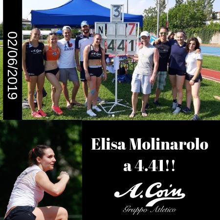 Elisa Molinarolo a 4.41!! (1)